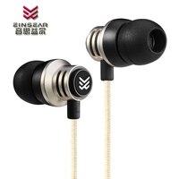 EINSEAR T2 In Ear Earphone 3 5MM Stereo In Ear Headset Dynamic Earbuds Aerospace Aluminum Alloy