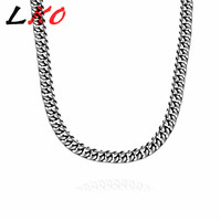 LKO Fashion Jewelry Male Necklaces Pendants 316L Stainless Steel Men Classic Eagle Choker Necklace Pingent Free