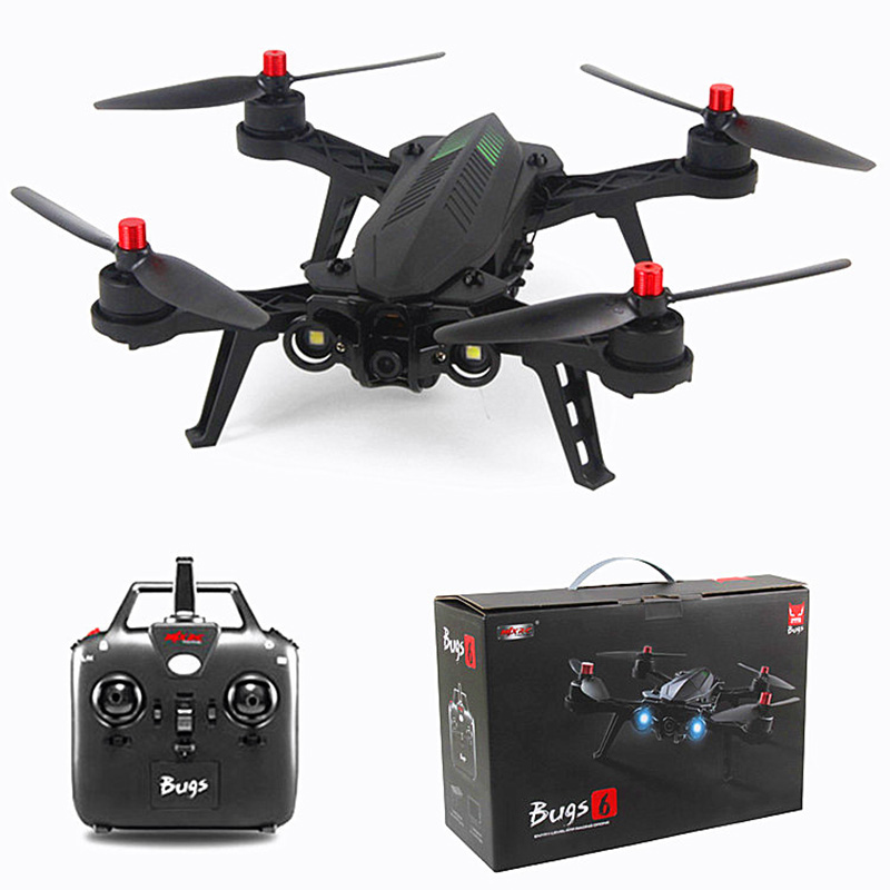 MJX B6 Bugs 6 RC Drone With Brushless Motor 2.4GHz Two-way 4CH Remote 300 Meters Control Quadcopter Dron in stock mjx bugs 6 brushless c5830 camera 3d roll outdoor toy fpv racing drone black kids toys rtf rc quadcopter