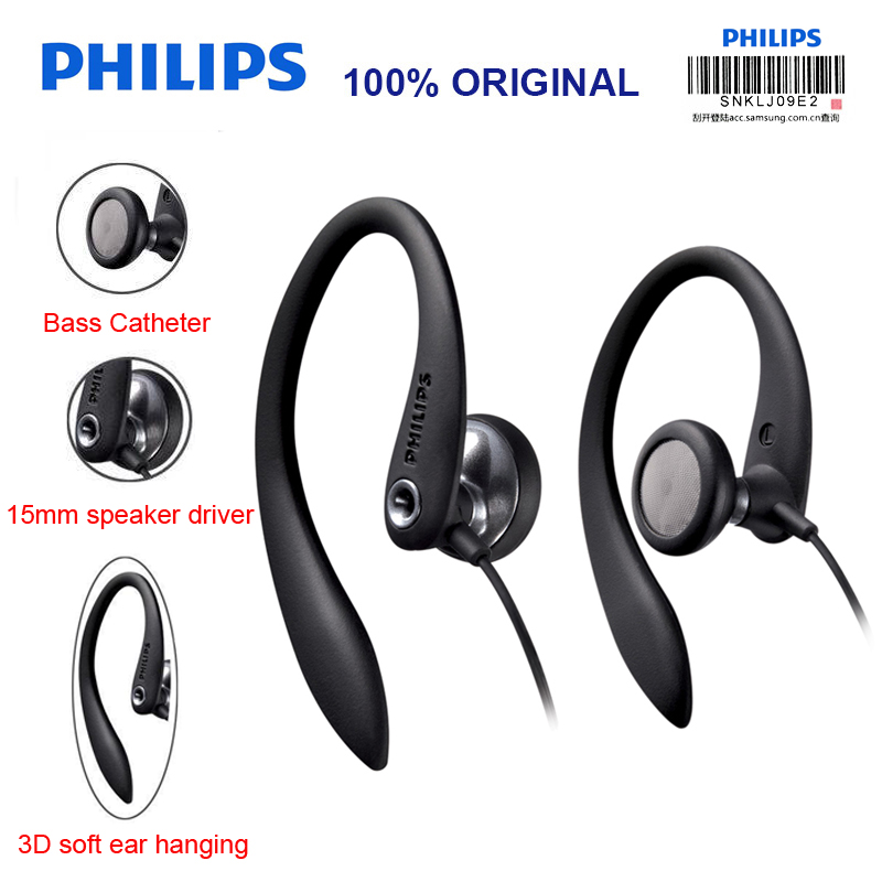 Philips SHS3300 Ear Hanging Type Headphones Sport Headsets with Noise Reduction Function for Xiaomi MP3 Official Certification