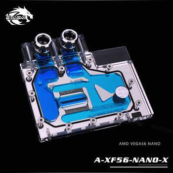 Bykski Water Block use for AMD XFX VEGA56 NANO / SAPPHIRE PULSE Radeon RX Vega56 8G HBM2 / Full Cover GPU Copper Radiator Block - DISCOUNT ITEM  5% OFF All Category