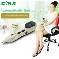Rechargeable Acupuntura Pen Point Detector Electronic Acupuntura Massage Pain Therapy electric Acupuncture Meridian Pen LY 508B