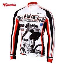 Tasdan Cycling Wear Cycling Jersey Long Sleeve Winter Bicycle Clothing Men's Sportswear Bike clothes
