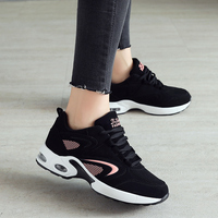 New Designer sneakers women Running Shoes Leather Outdoor Cushion Sport Gym Shoes Woman Comfortable Black Walking Zapatillas A29