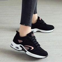 1f71ec526 جديد مصمم أحذية رياضية النساء احذية الجري جلدية وسادات للخارج الرياضة حذاء  للجيم امرأة مريحة الأسود