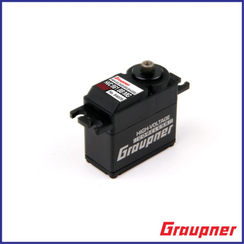 Graupner HVC 861 BBMG High-Torque 20mm HV CL Digital Servo gear digital servo baja servo for RC car ,truck Free Shipping