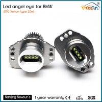 7000K Super Bright White E90 E91 Angel Eye Halo Light Upgrade CREE LED 20W Angel Eyes