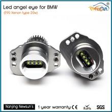 7000 К супер яркий белый E90 E91 Ангел глаз Halo света обновления LED 20 Вт Angel Eyes маркер для BMW E90 e91 w/ксенон