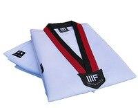 20 stks/partij groothandel! Adult & kids dobok Taekwondo TKD uniform mannen vrouwen Lange mouw + broek Jiu-jitsu karate training pak