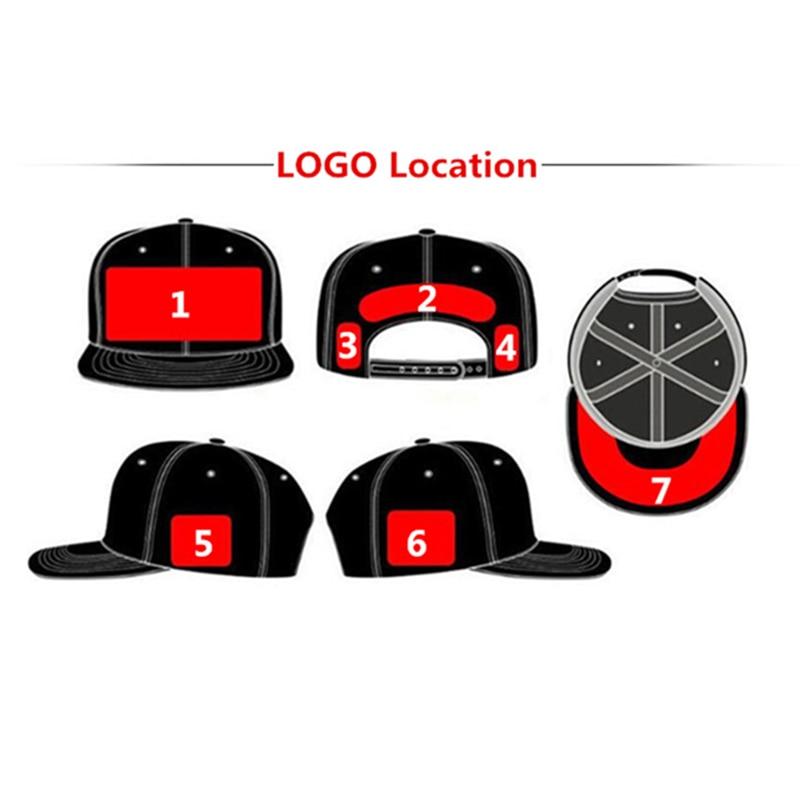 Full Customization Trucker Baseball Caps Custom Embroidery Printing Logo  BLack Mesh Curved Brim Hats Adult Kids Size -in Baseball Caps from Apparel  ... 403bd74d73b
