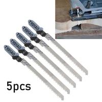 T haste Jigsaw Lâmina Para Corte De Madeira de Plástico Variados De Aço do Metal Cortador T101AO HCS 82 milímetros Durável de Alta Qualidade|Lâminas de serra| |  -