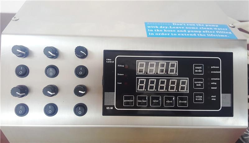 Купить с кэшбэком edible oil filling machine ,diaphragm pump model filler with 6 nozzles from 3ml to 4000ml per min perfume filling machine