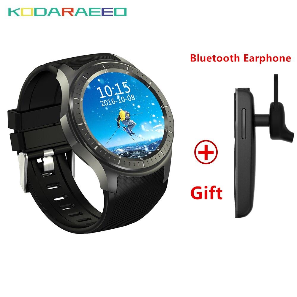 DM368 Smart Watch Andriod MTK6580 With SIM Card 3G Watch phone WiFi GPS Heart Rate tracker Monitor Bluetooth Smart Watch man цена