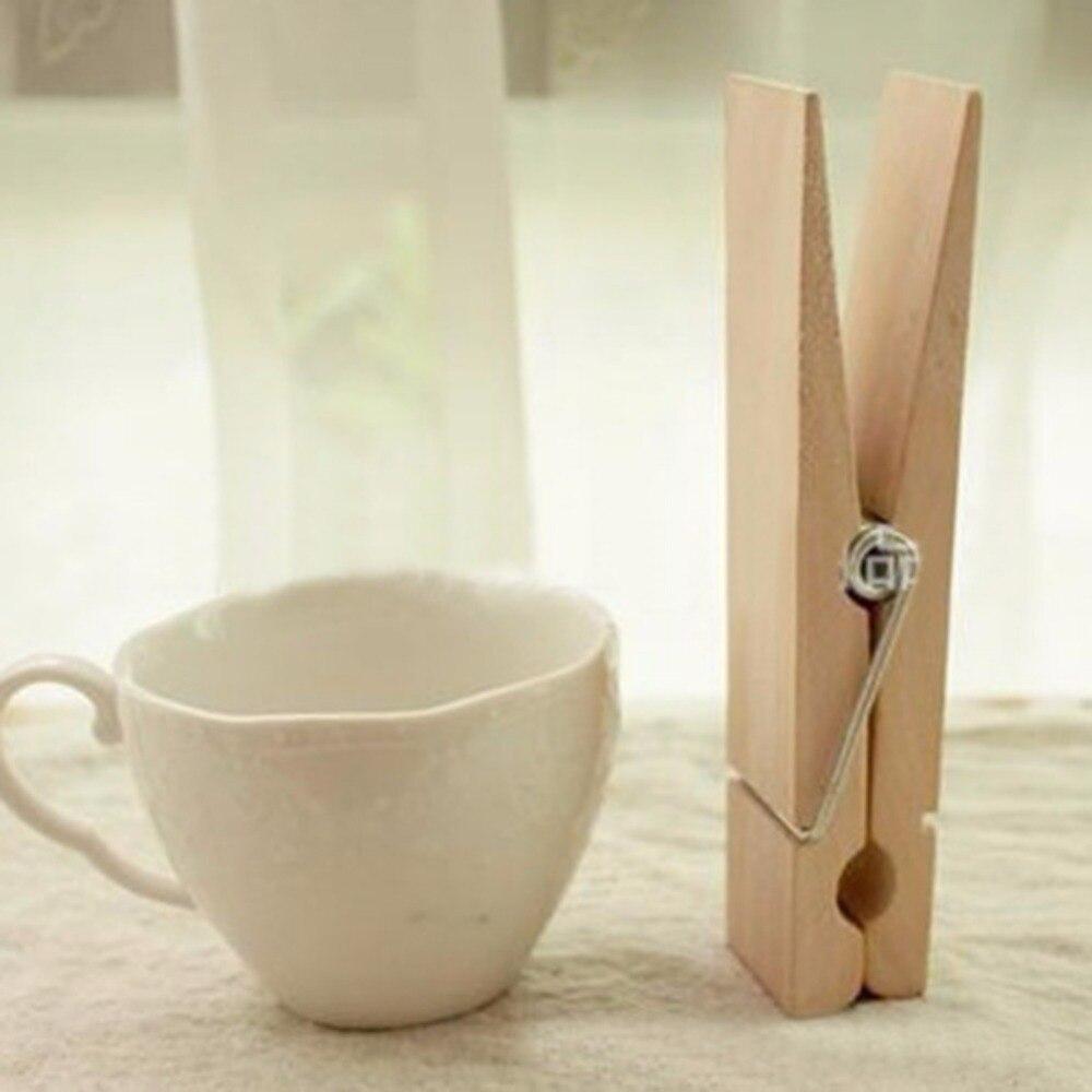 Cute Wood Clothespins Wooden Laundry Clothes Pins Photo Paper Peg Clip  50PCS(China (Mainland