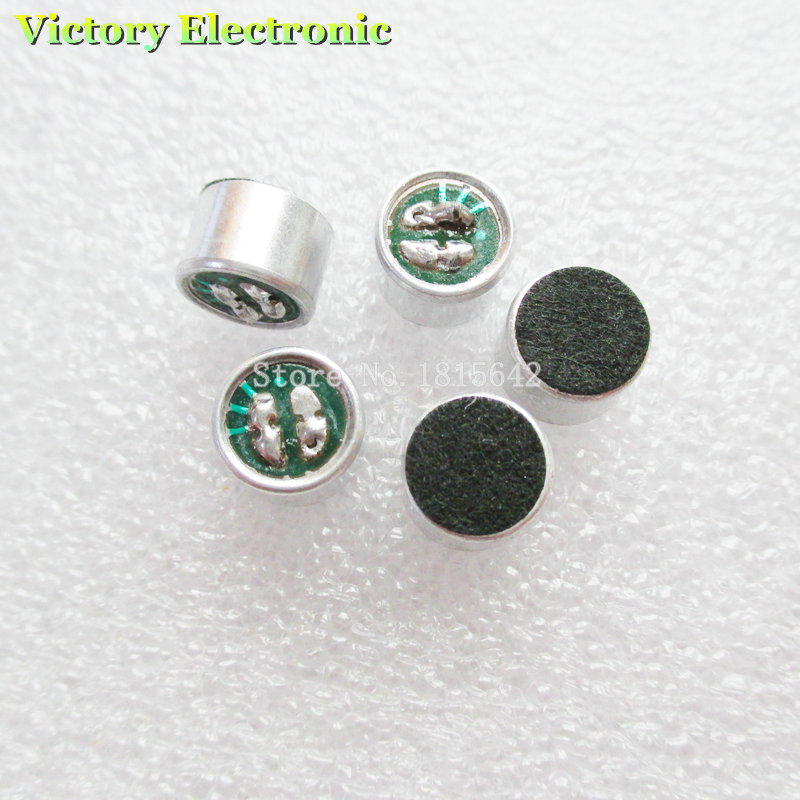 10PCS/Lot New Pickup Without Pin 9*7mm Polar Microphone Wholesale Electronic