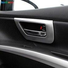 Для Suzuki Sx4 S-Крест кроссовер 2014 2015 2016 2017 2018 внутренняя дверная ручка крышки ABS Матовый хром отделкой автомобильные аксессуары 4 шт.