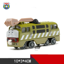 DIESEL NO.10  One Piece Diecast Metal Train Toy Thomas and Friends Megnetic Train The Tank Engine Toys For Children Kids Gifts