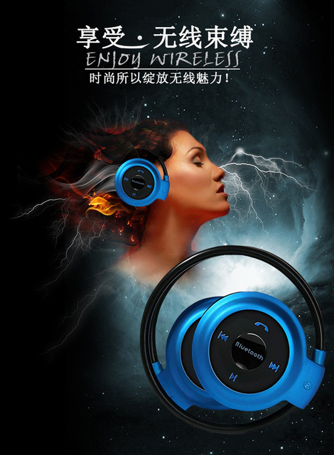 New Wireless Bluetooth HandFree Sport Stereo Headset headphone for Samsung for iPhone for LG PC