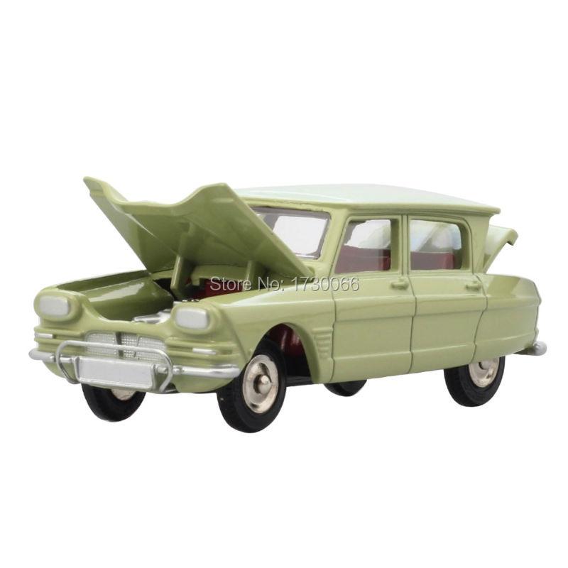 DINKY TOYS Atals Antik autó modell 1:43 Mérleg 557 AMI 6 CITROEN SUPER DETAIL Alloy Diecast autó modell és játékok modell gyűjteményhez