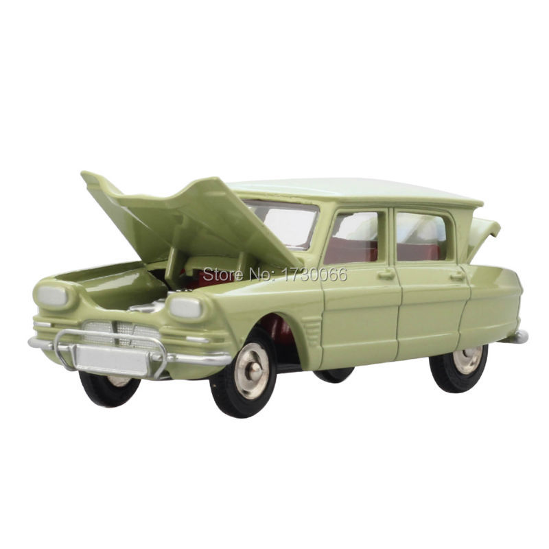 DINKY TOYS Atals Antique car model 1:43 Scale 557 AMI 6 CITROEN SUPER DETAIL Alloy Diecast Car model & Toys Model for Collection