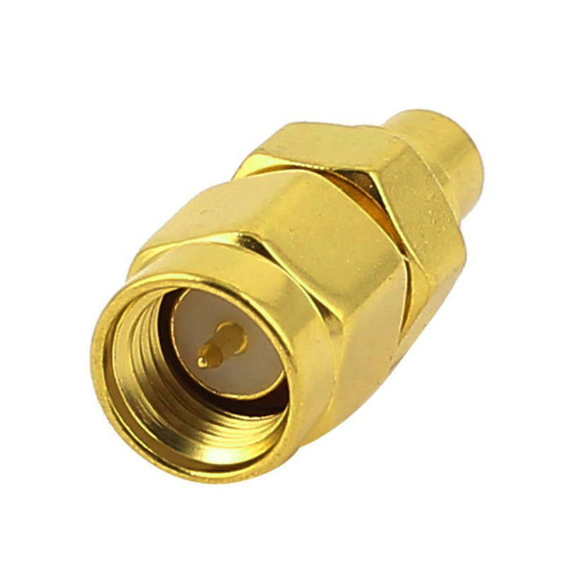 SMA Male Plug to MCX Female Jack Straight RF Coaxial Adapter Connector Convertor --M25 10 pcs rf coaxial adapter sma female to mcx male straight new