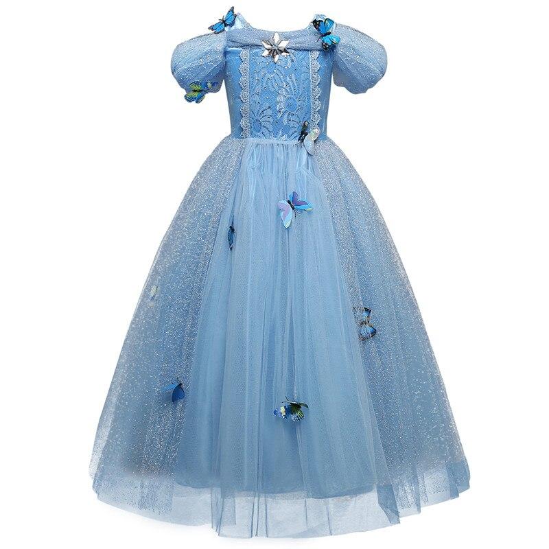 HTB1F VMr3KTBuNkSne1q6yJoXXaH Aladdin Fairy Princess Costume Rapunzel Princess Dress Halloween Carnival Aurora Cosplay Dress up Kids Baby Anna Elsa Dresses