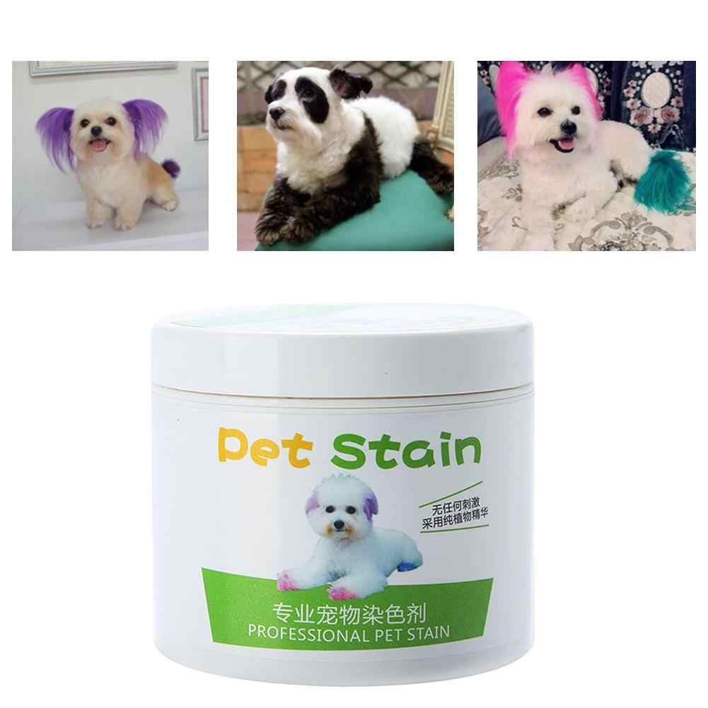 1Pc 100ml Professional Hair Dye Gel for Dogs Pet Stain Anti ...