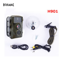 On sale H901 HD 1080P Hunting Trail Camera Photo Traps Infrared Night Vision Waterproof Digital Cam Wild Animal Observation Recorder
