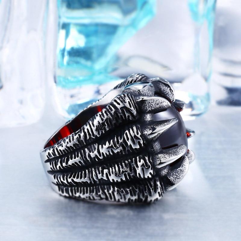 Dragon Claw Steel Ring 1