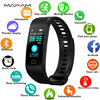 MAFAM Smartwatch Electronic Smart Watch Women Men Running Cycling Climbing Sport Watch Health Pedometer LED Color Screen Watch