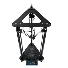 Plus+L Touch Screen 3D Printer with Laser Engraving Auto Change Material Intelligent Leveling Triangle Delta Printer