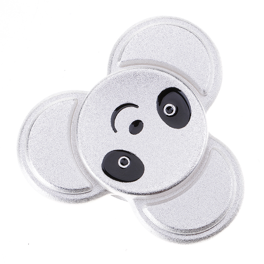 Lovely Panda ADHD Anxiety Autism Stress Reducer Fidget Hand Tri Spinner EDC Toy