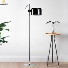 Modern Aluminum floor lamp Black industrial Deco floor lamps luminaires living room Bedroom lighting Fixtures standing lamp(China)