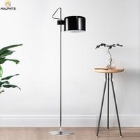 Modern Aluminum floor lamp Black industrial Deco floor lamps luminaires living room Bedroom lighting Fixtures standing lamp