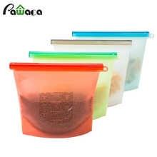 4pcs/set Reusable Vacuum Silicone Food Bag Sealer Freezer Milk Fruit Meat Storage Bags Fridge Food Containers Refrigerat Bags - DISCOUNT ITEM  20% OFF All Category