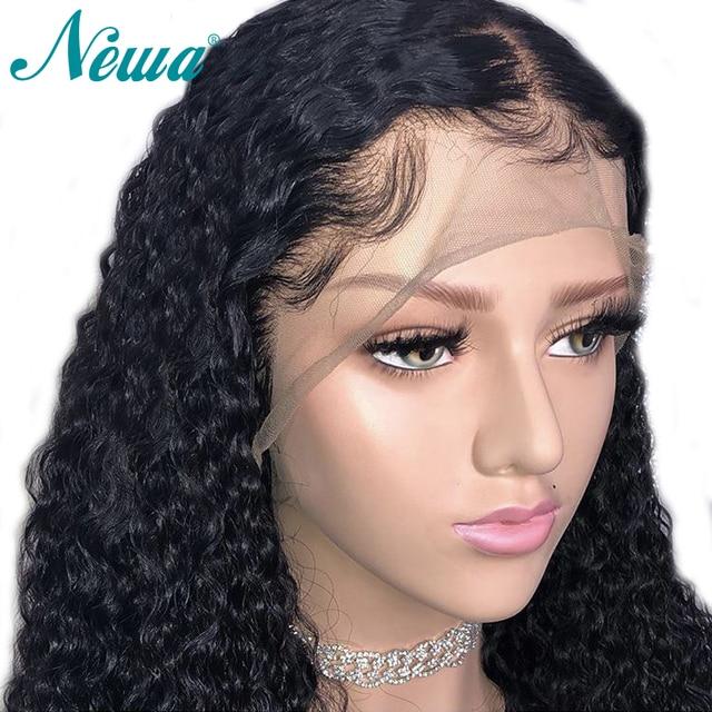 NYUWA 360 perruque frontale en dentelle pré