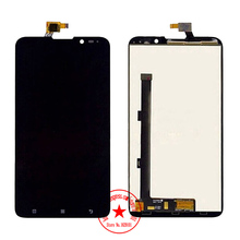 TOP Quality Replacement 6.0 Inch Full LCD Display Touch Screen Digitizer Assembly For Lenovo S939, Black Free Shipping