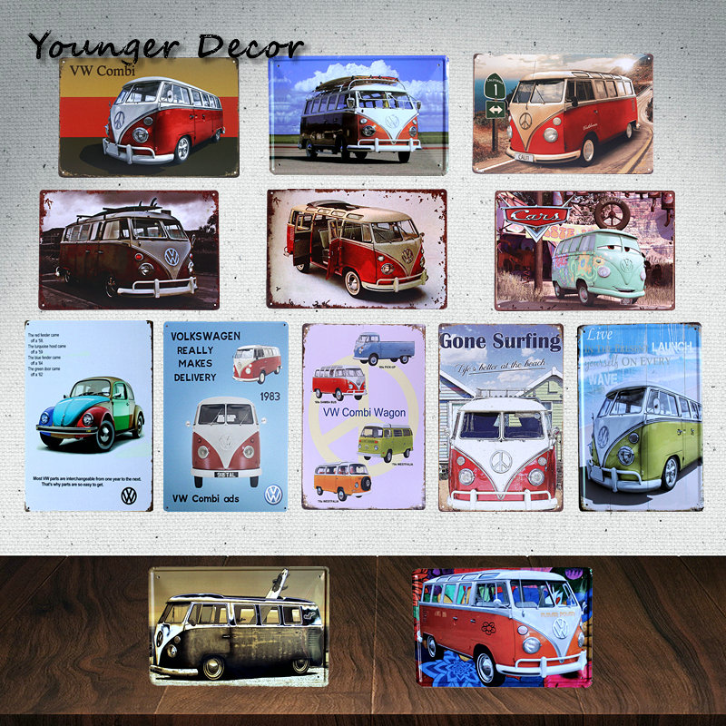 Buy vintage home decor brand car bus vw for Home decor brands
