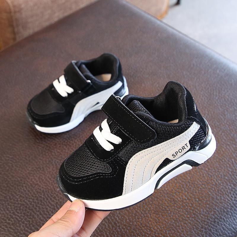 European fashion infant tennis Hook&Loop baby shoes Sports ...
