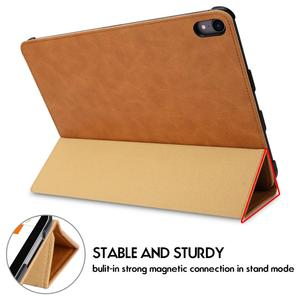 Image 2 - For iPad Pro 11 Case Microfiber Tablet Case with Pencil Slot 2018 Funda Slim Smart Cover for iPad 11 inch Case Magnetic Ultra