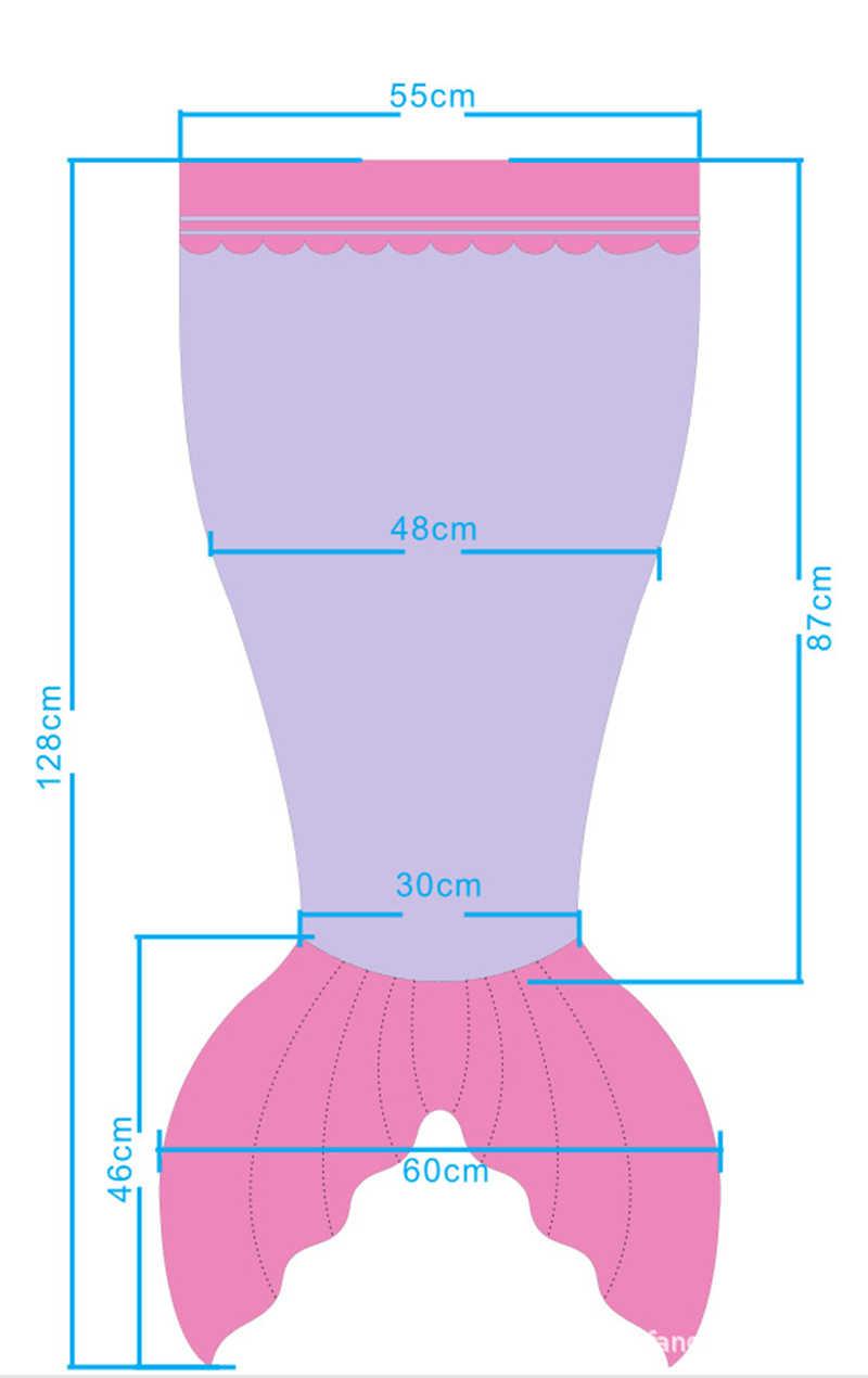 Sequin Mermaid Children Blanket Ice Cream Shark Mermaid Tail Throw Blanket For Kids Coral Fleece Sleeping Wrap For Bed/Sofa