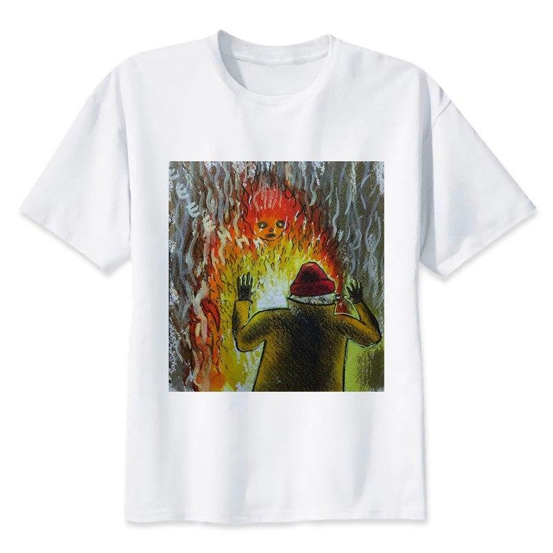 Burning Man T shirt men t shirt fashion t-shirt O Neck white TShirts For man Top Tees MMR697