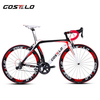 2013 LOOK 695 LIGHT Mondrian Carbon Road Bicycle Frame With Integrated Aerostem And Crankset Carbon Road