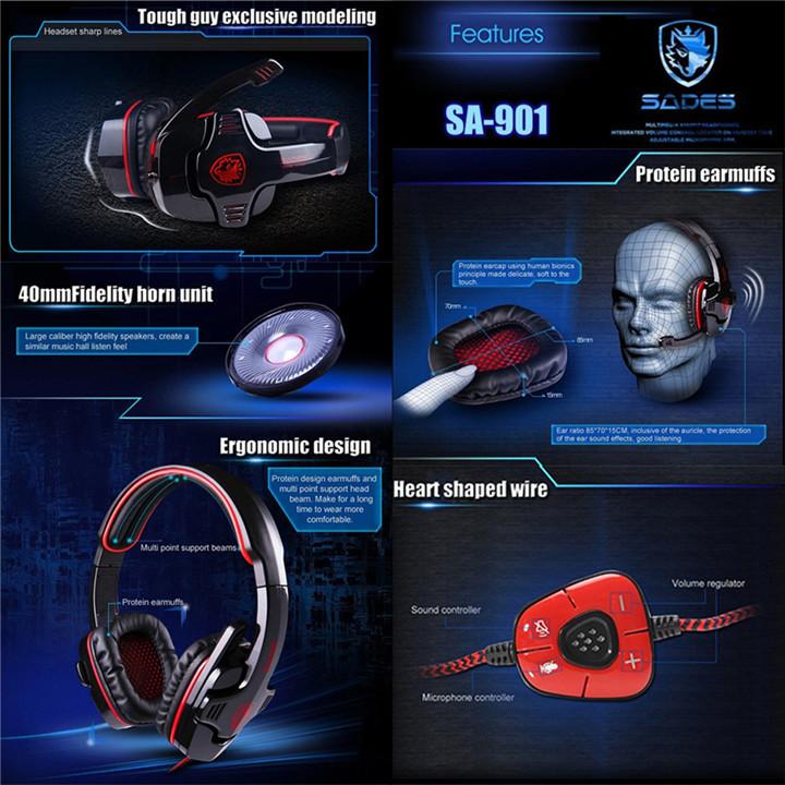 Original-Sades-SA-901-7-1-gaming-headphones-usb-gaming-pc-headset-Stereo-earphones-with-microphone