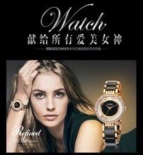 Kimio perla cristal escala del diamante del balanceo pulsera de las mujeres relojes de marca de moda de lujo de las señoras mujeres del reloj de cuarzo reloj reloj