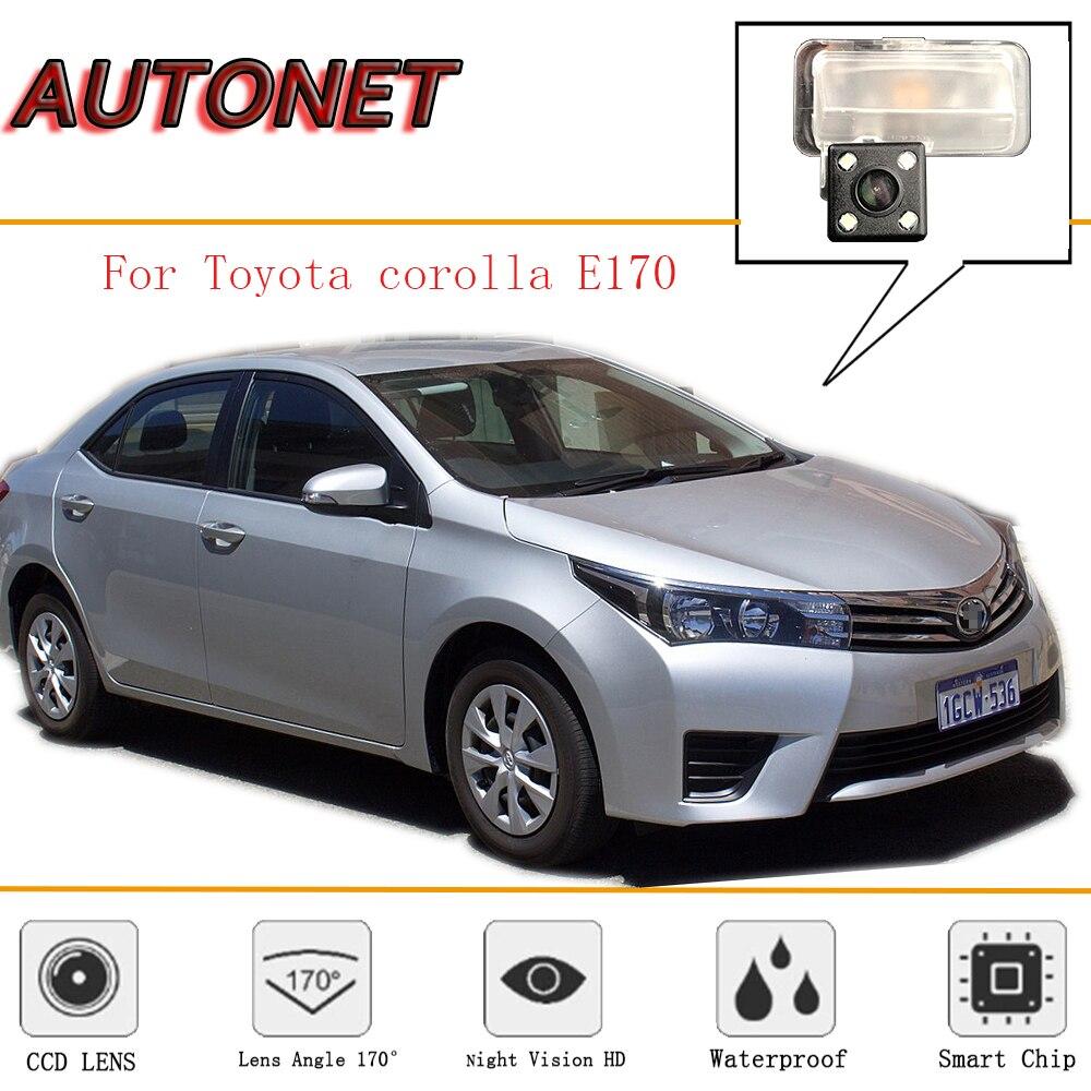 AUTONET Rear View Camera For Toyota Corolla E170 2014~2018/CCD/Night Vision/Reverse Camera/Backup Camera/license Plate Camera