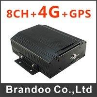 Cheapest 4G 8CH CAR DVR Used For School Bus Police Car Urban Bus Shuttle Bus Train