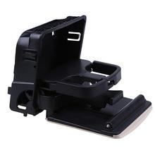 Black Car Central Console Armrest Rear Cup Drink Holder Box