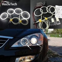 HochiTech Excellent CCFL Angel Eyes Kit Ultra Bright Headlight Illumination For SsangYong Kyron 2007 2008 2009