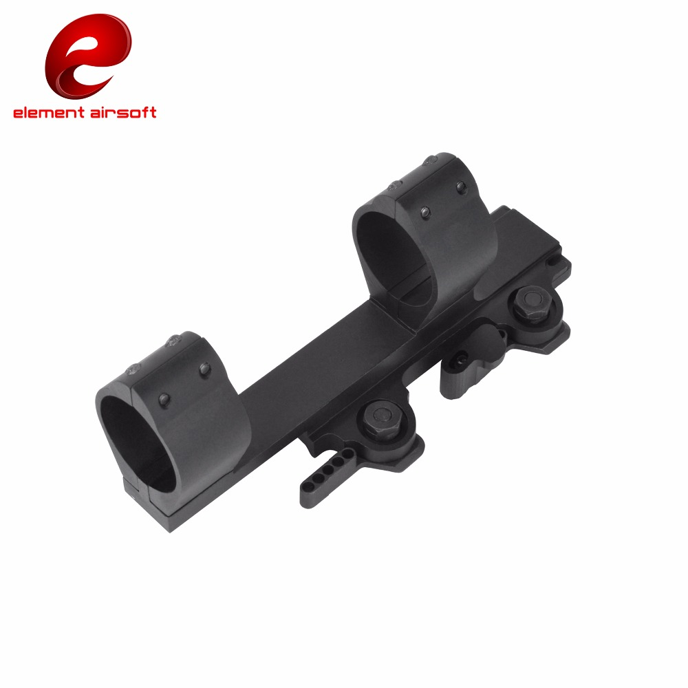 Element SPR-1.5 QD Mount For 30mm Diameter Scopes Flashlight Mount Military Paintball Hunting Weapon Light Accessories EX033